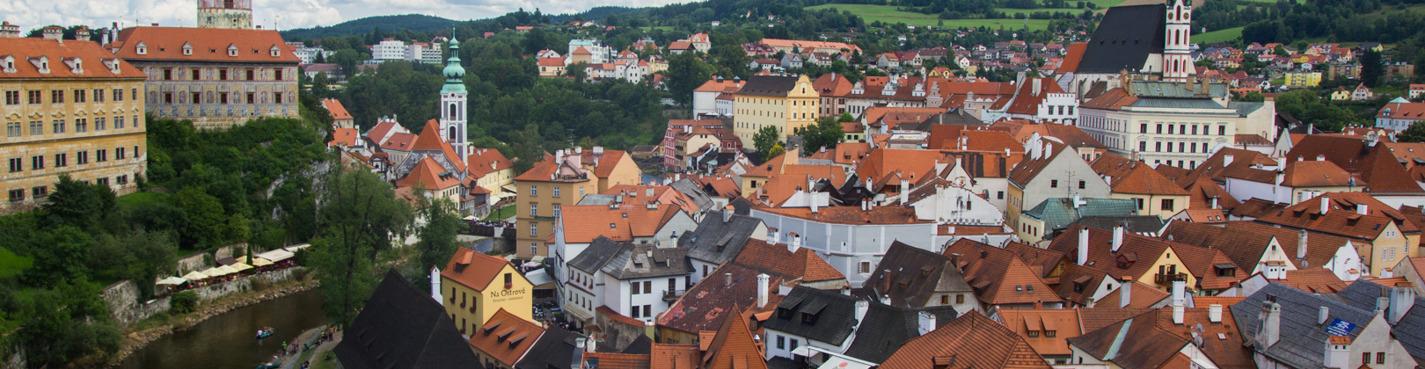 Экскурсия из Праги в Чешский Крумлов и замок Глубока над Влтавой