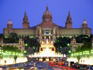 Барселона вечерняя