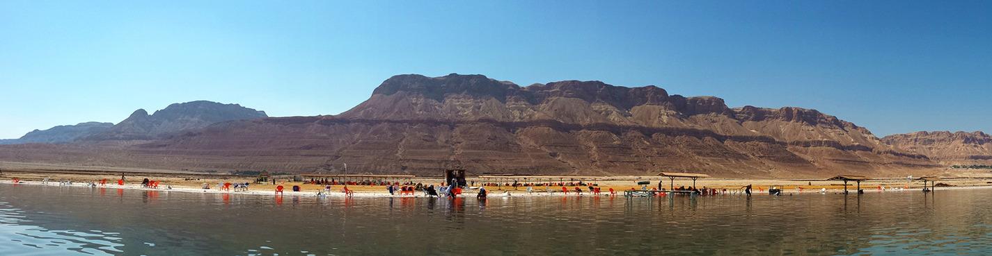Мёртвое море. SPA Эйн-Геди.