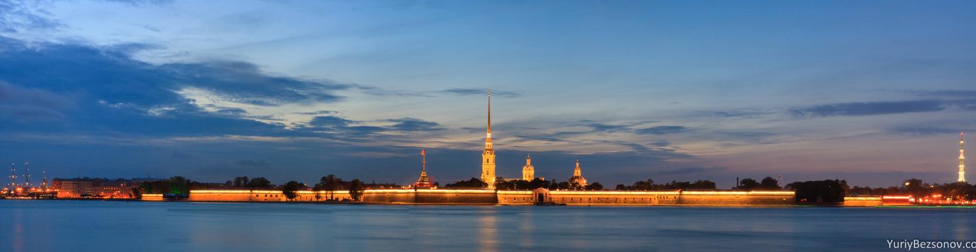 Обзорная автобусная экскурсия с посещением Петропавловской крепости