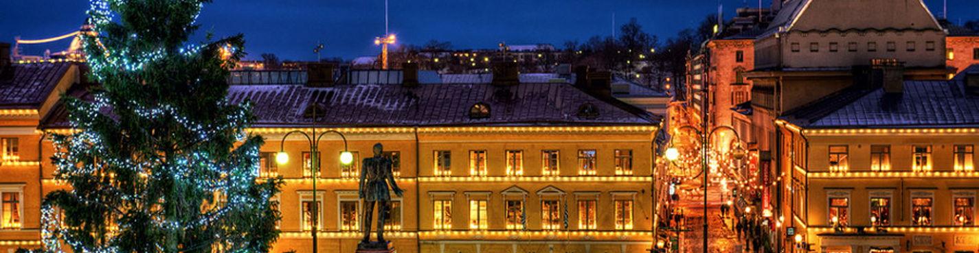 Праздничный Хельсинки