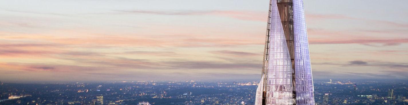 """Вид на Лондон с небоскрёба """"Осколок"""""""