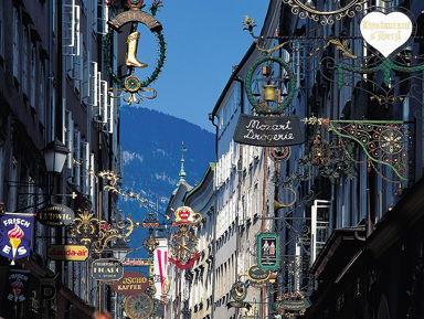 Зальцбург: пешеходная экскурсия