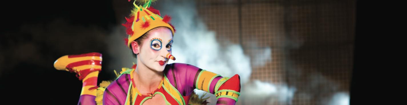 Экскурсии в Орландо. Circus de Soleil Orlando (цирк Дю Солей)