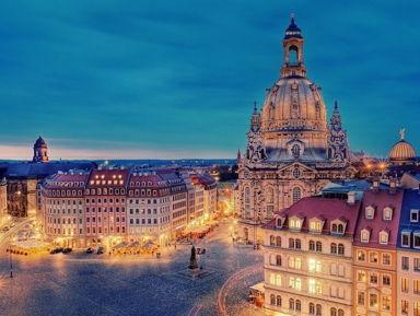 Пешая экскурсия по Дрездену