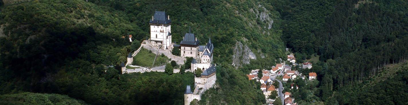 Королевские замки Карлштейн и Кршивоклат