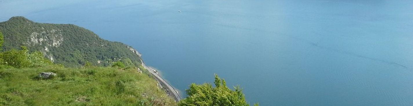Экс ле Бэн и озеро Бурже