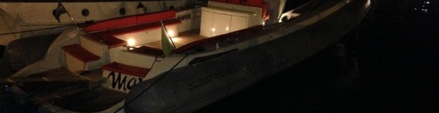Морская прогулка на экстравагантной моторной лодке ALBATRO 50