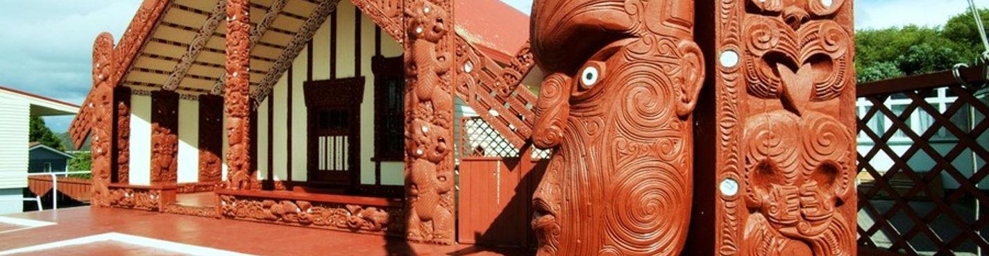 8. Экскурсия по набережной г. Роторуа, деревни маори Охинимуту. Роторуа.