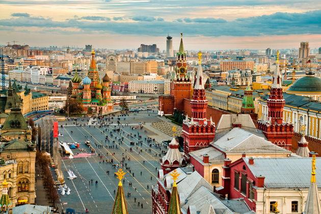 Экскурсия в Москве: Экскурсия по крышам Москвы. А из нашего окна, площадь Красная видна
