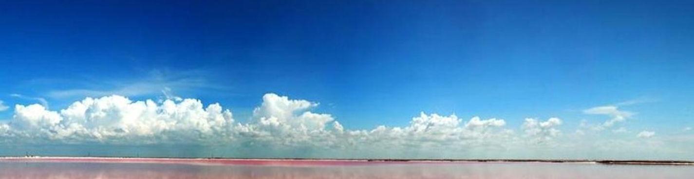 Заповедник фламинго, соленые озера и пирамиды Эк Балам