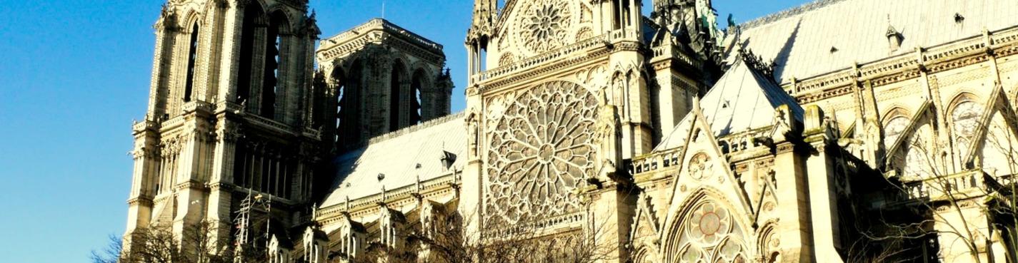 Собор Парижской богоматери и исторический центр Парижа