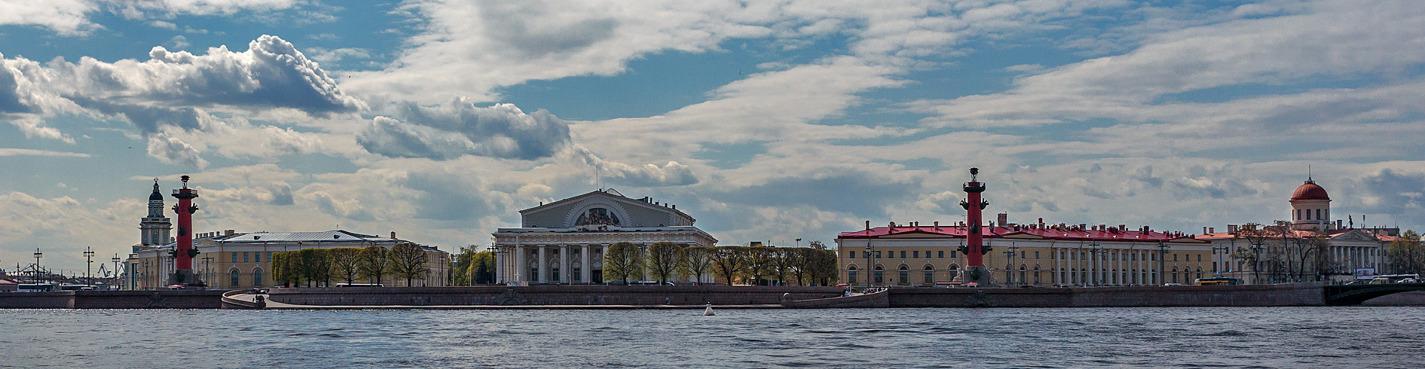 Парадный Петербург с выходом в Финский залив