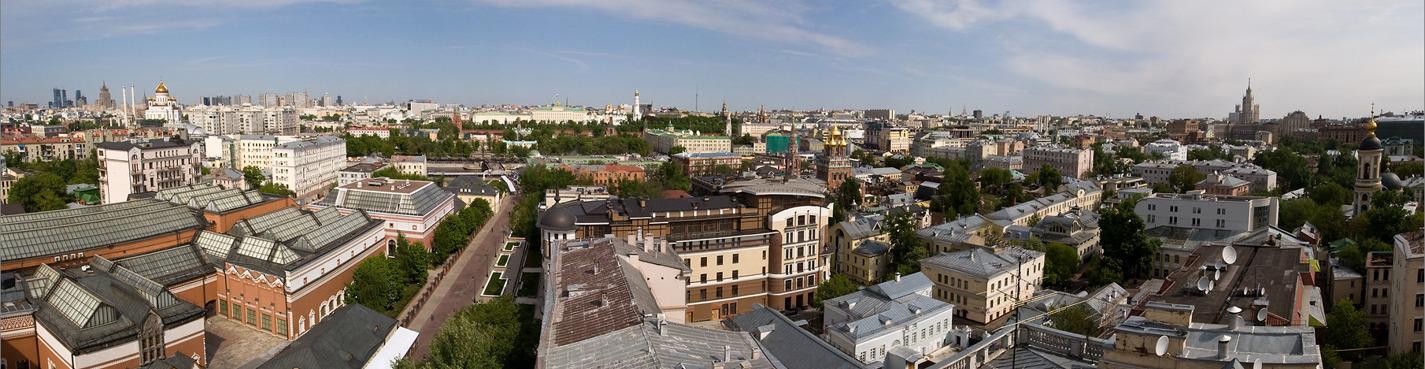 Москва глазами Москвичей