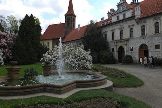 Поездка в замок и сад