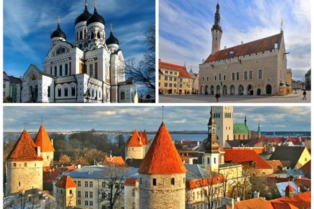 Экскурсия : Групповые новогодние экскурсии в Таллинне, Эстонии