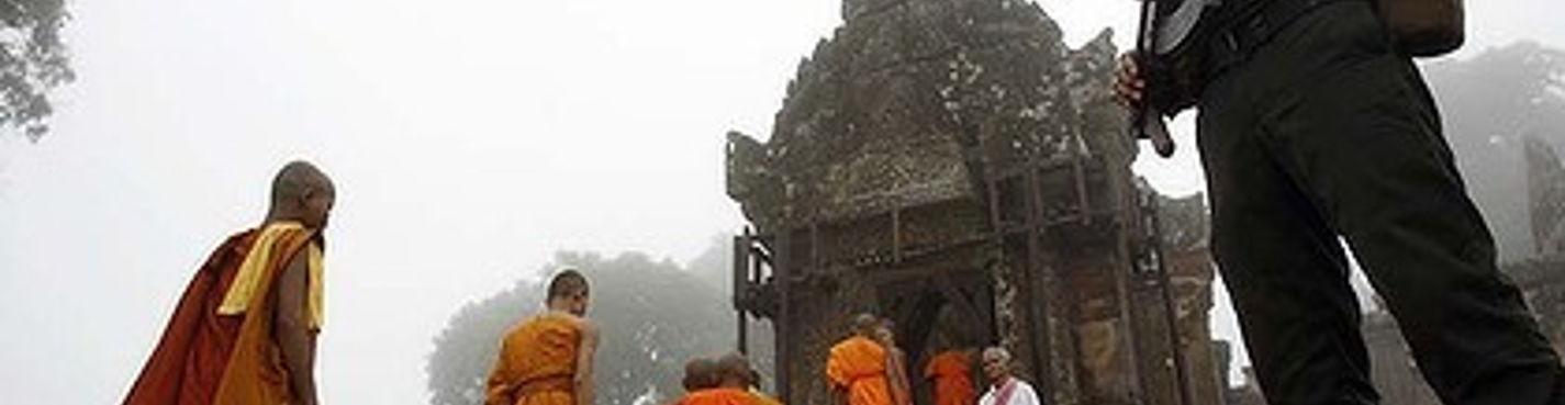 Храм ПрехВихиа (граница Камбоджа Таиланд)
