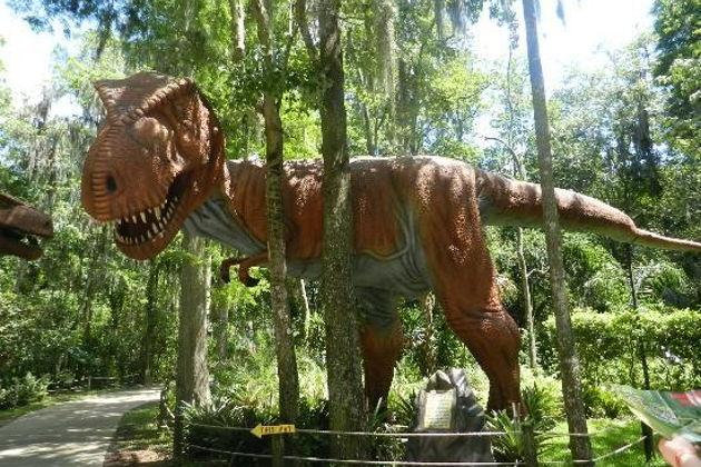 Экскурсия в Майами: Экскурсии в Орландо. Мир Динозавров. Dinosaur World.