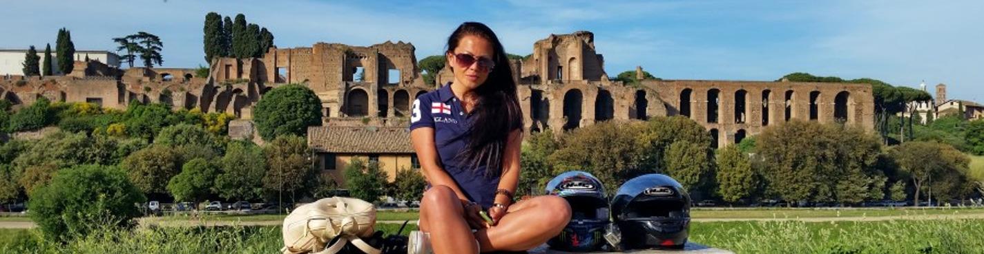 Обзорная экскурсия по Риму на мотоцикле