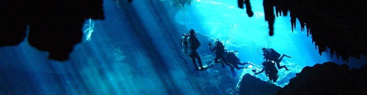 Дайвинг на Юкатане: Мезоамериканский Барьерный Риф и подземные реки / сеноты