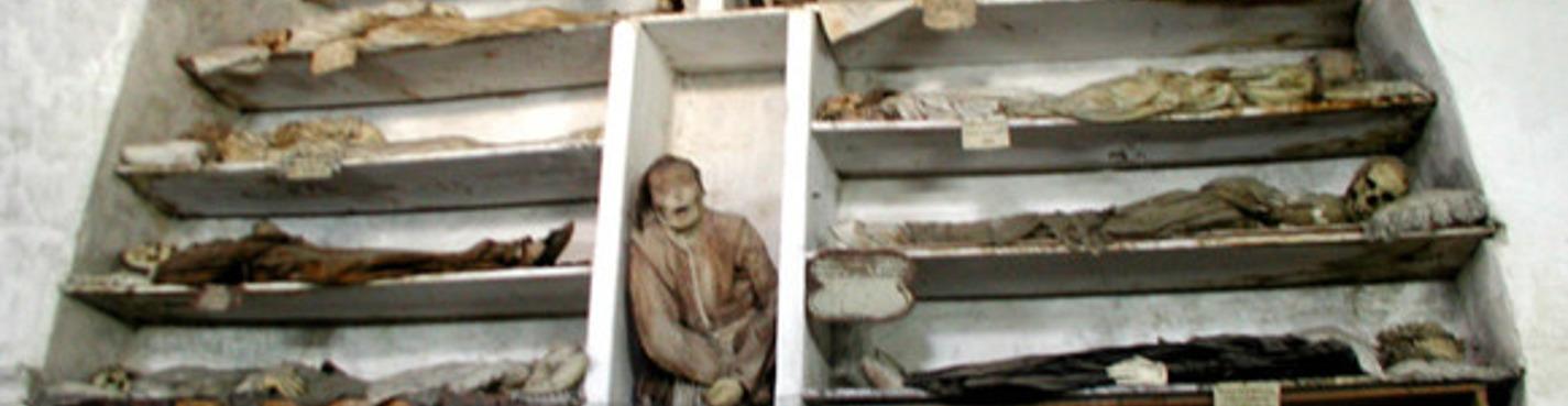 Экстрим! Катакомбы Капуцинов уникальный музей мумий в открытом виде