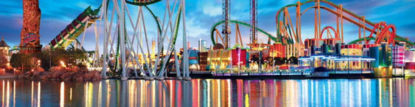 Парки Орландо (Disney, Universal, EPCOT, Aquatica)