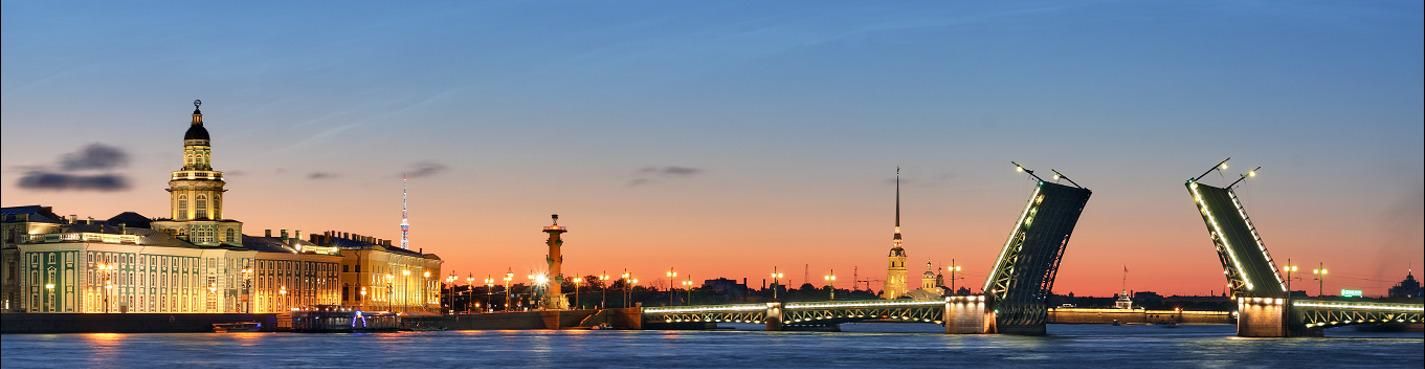 Автобусная обзорная экскурсия по Санкт-Петербургу