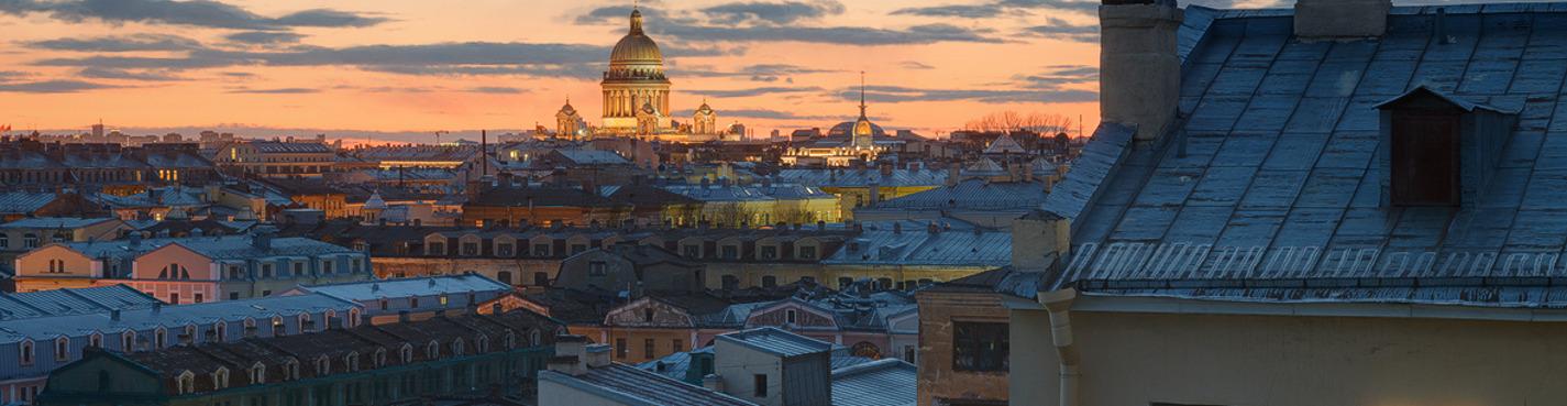 Ночная экскурсия по крышам Невского проспекта