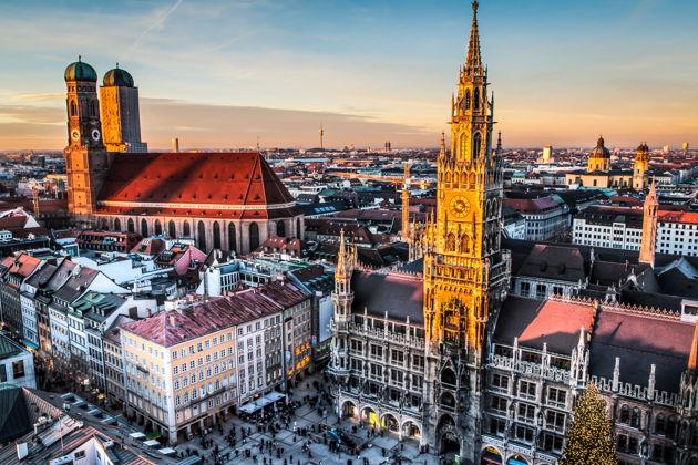 Экскурсия : Пешеходная экскурсия по историческому центру Мюнхена