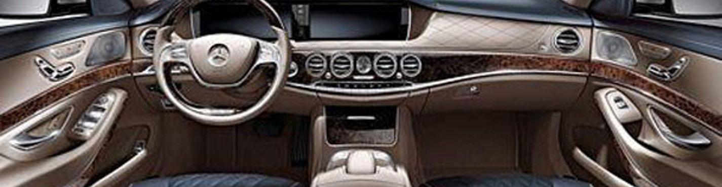 Почасовая аренда автомобиля Mercedes s class 2014 года с водителем