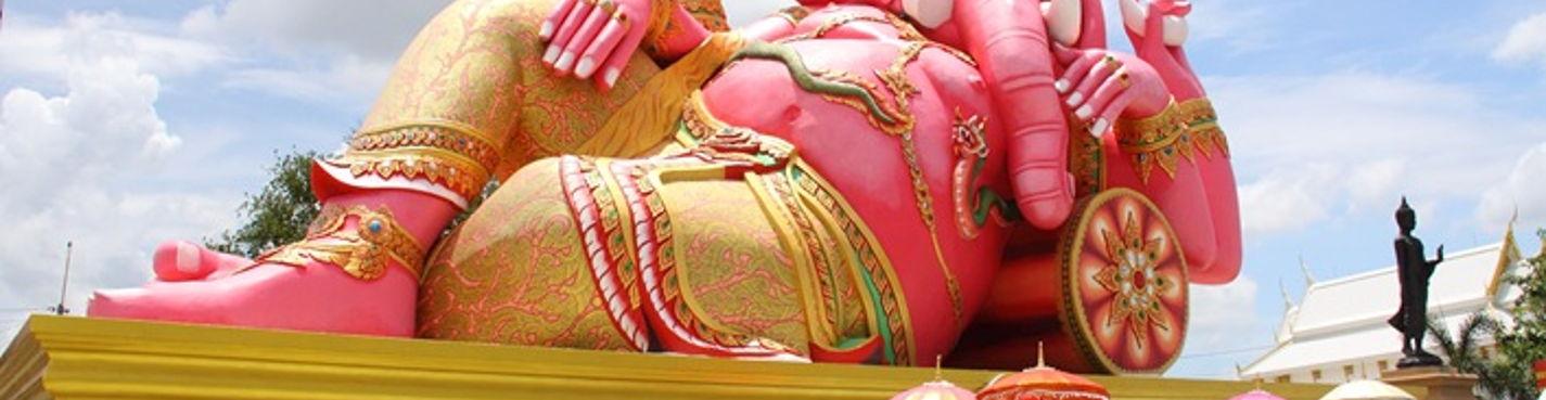 Краски древнего  Сиама
