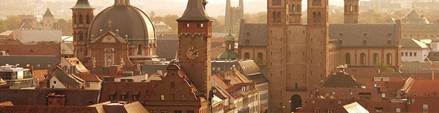 Вюрцбург — один из крупнейших городов Франконии