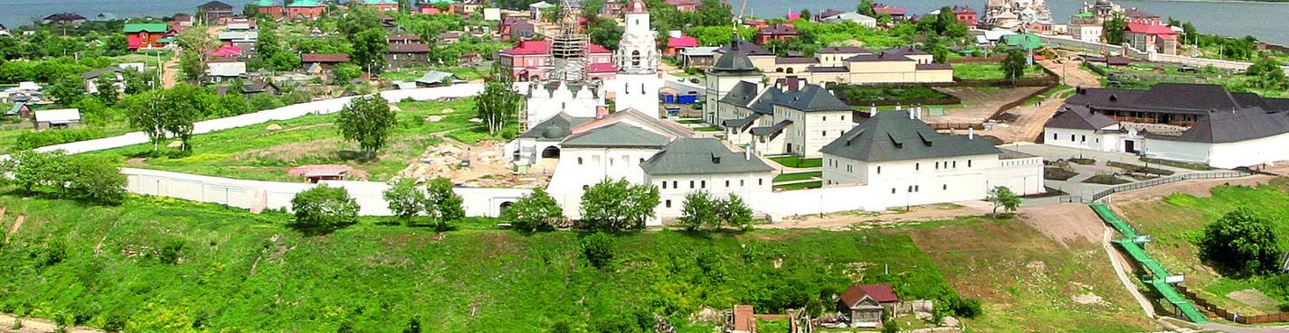Остров-град Свияжск, Раифский монастырь, Храм Всех Религий