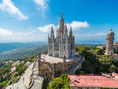 Тибидабо и Монтжуик — легендарные горы Барселоны