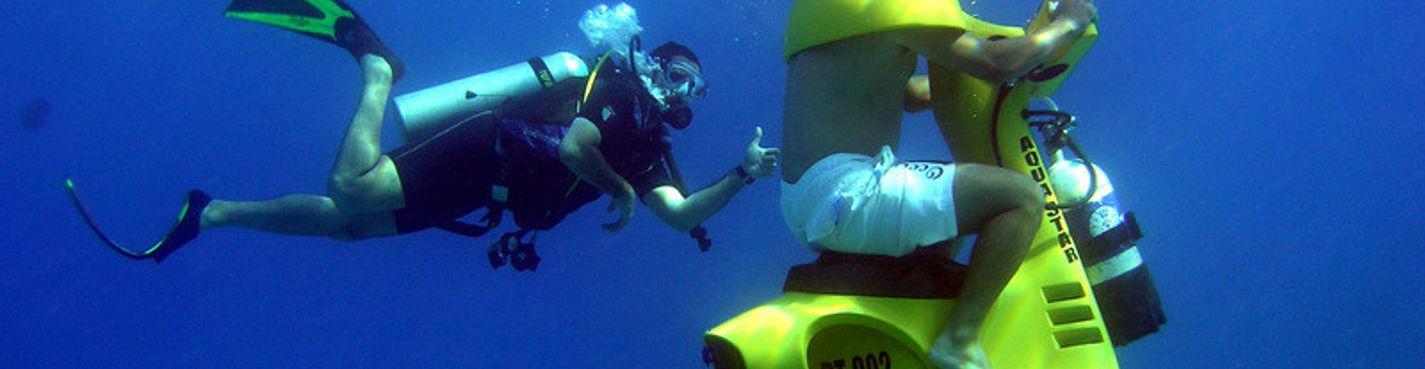 Подводные скутера