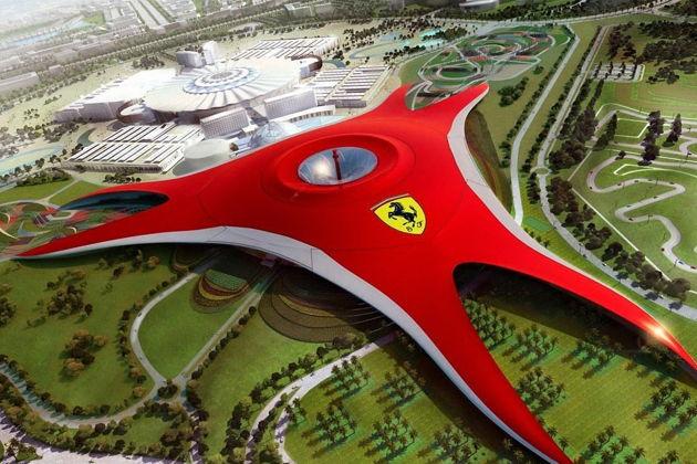 Феррари парк, остров Яас, Формула 1