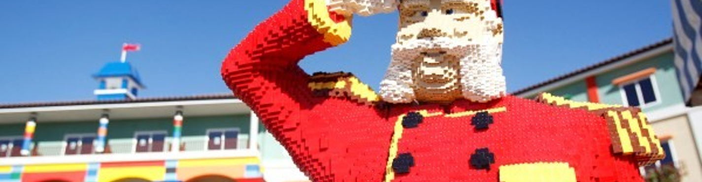 Экскурсия в мир лего в парк Legoland