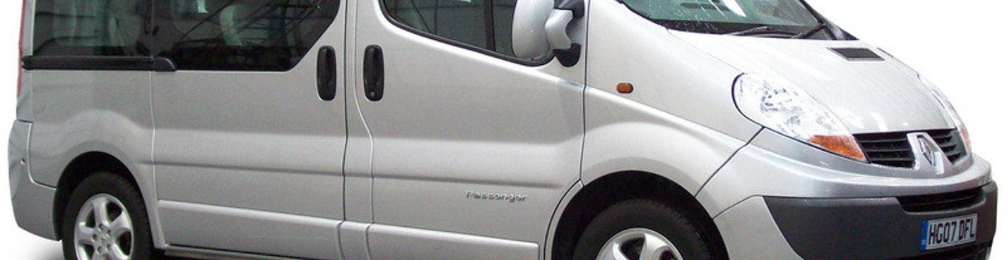 Аренда  Минибуса Renault Trafic с водителем (вместительность 8 человек) на 12 часов в Париже