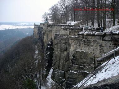Поездка в Саксонскую Швейцарию (на Бастай и крепость Кёнигштайн либо в одно из этих мест)