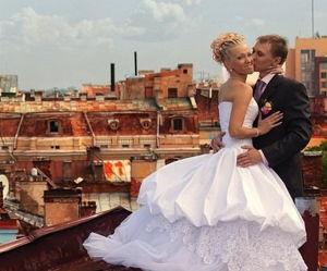 Свадебная фотосессия на крыше - экскурсия