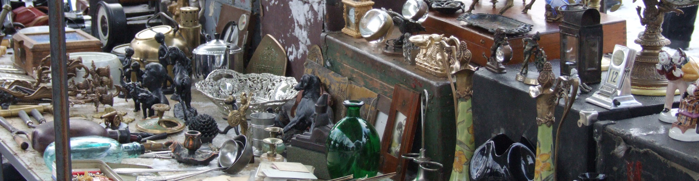 Express-guide through antique & flea markets