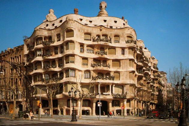 Экскурсия в Барселоне: Билеты без очереди в дом Мила (Педрера)