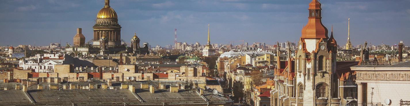 Экскурсия по крышам на Невском проспекте!