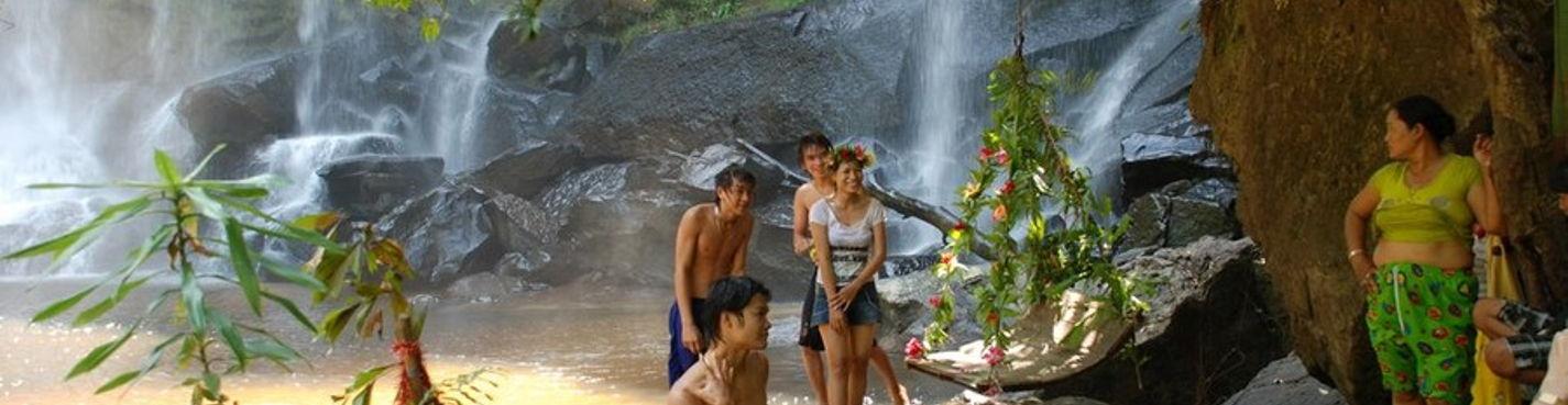 Национальный парк Пном Кулен — Священный Водопад