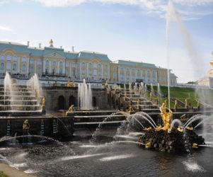 Автобусная экскурсия в Петергоф (дворец, Верхний и Нижний парки)
