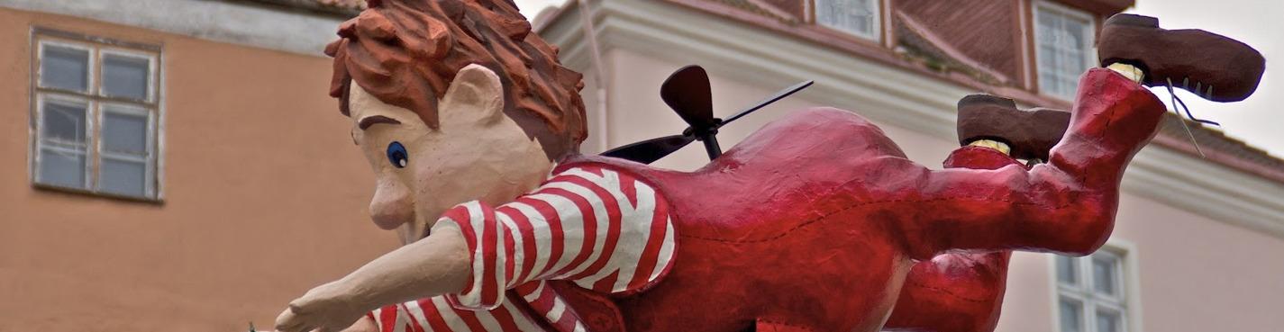Таллинн для детей: сказочная пешеходная экскурсия