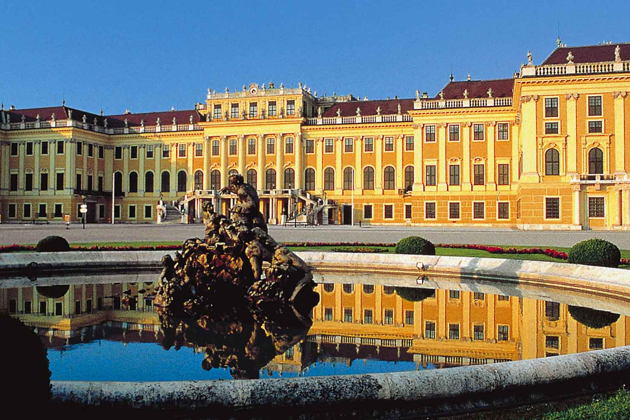 Билет во дворец Шёнбрунн