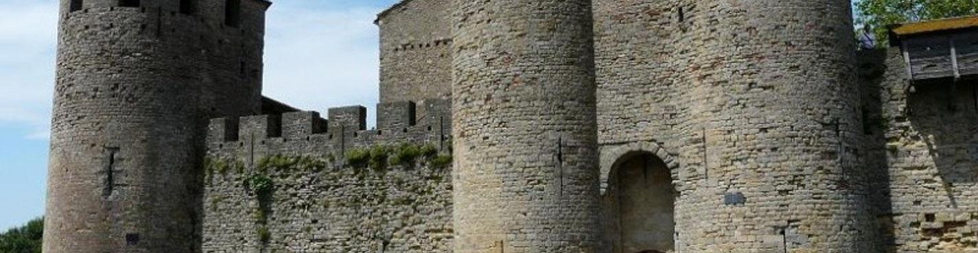 Франция, город-крепость Каркассон