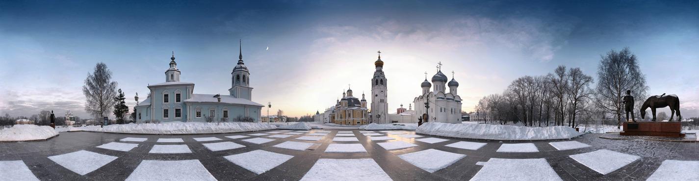 Обзорная экскурсия по Вологде