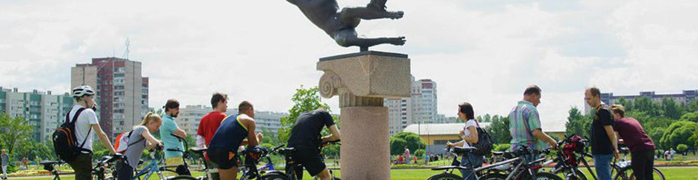 Истории и жизнь спального района: велопрогулка по северу Санкт-Петербурга
